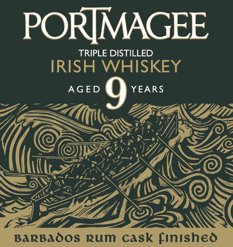 portmagee 9 Irish Whiskey Label